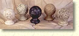 Carved Finials